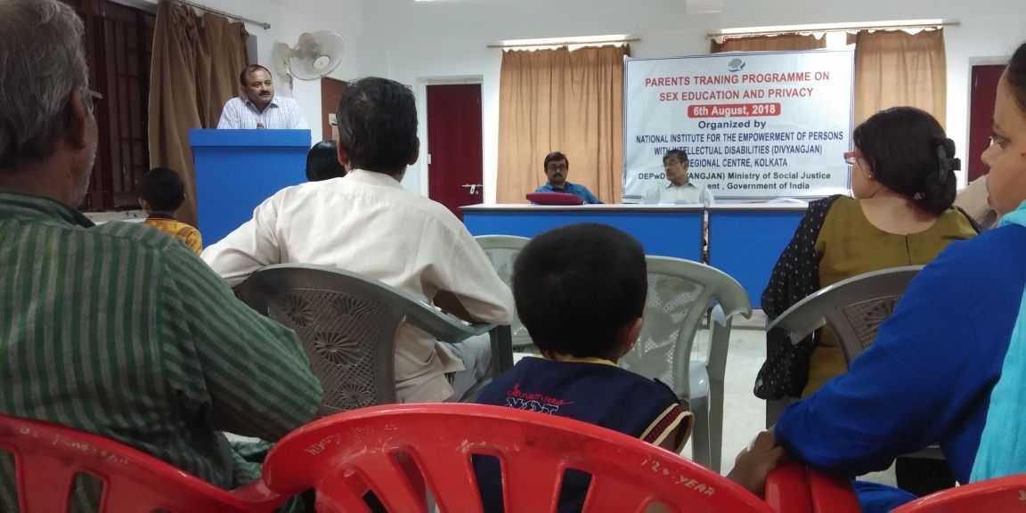 Me at Seminar organised by NIEPID, Regional Centre, Kolkata