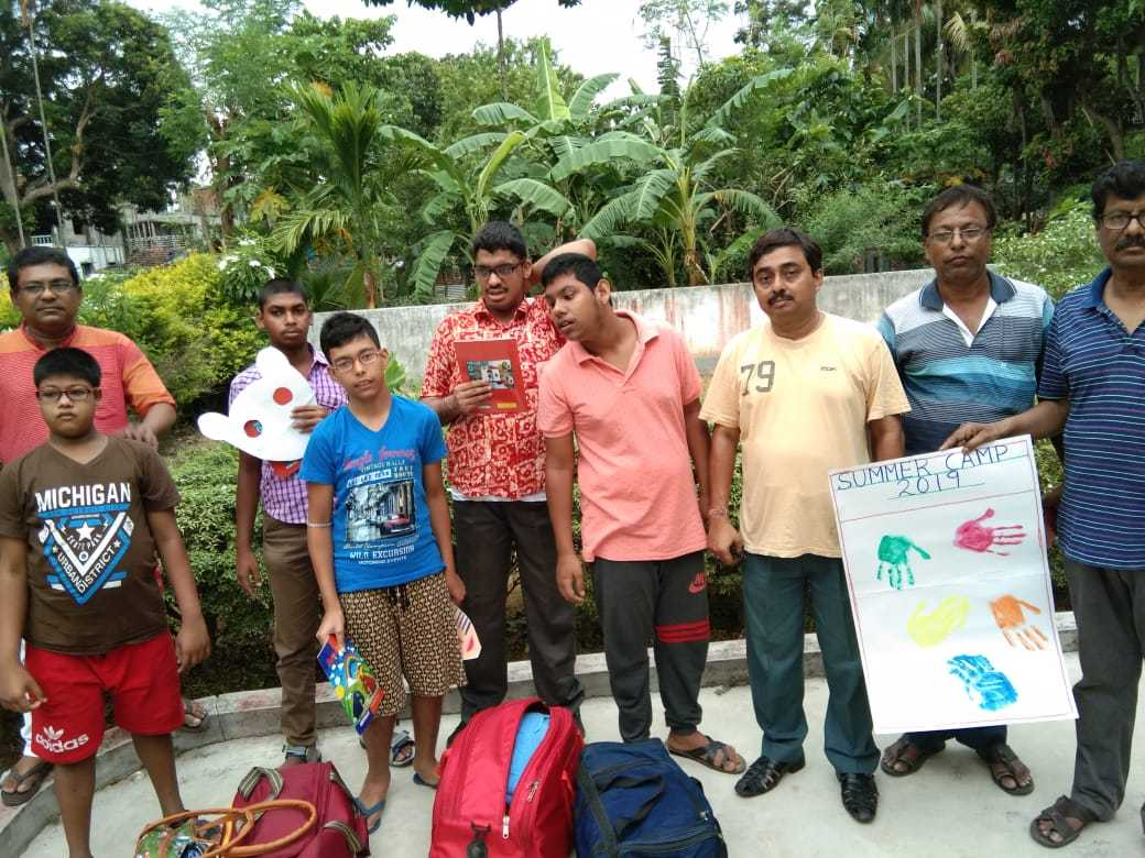 Kalyani Life Institute has organised one night-two days boys' camp on 1st and 2nd of June with Five beneficiaries above 14 years of age.