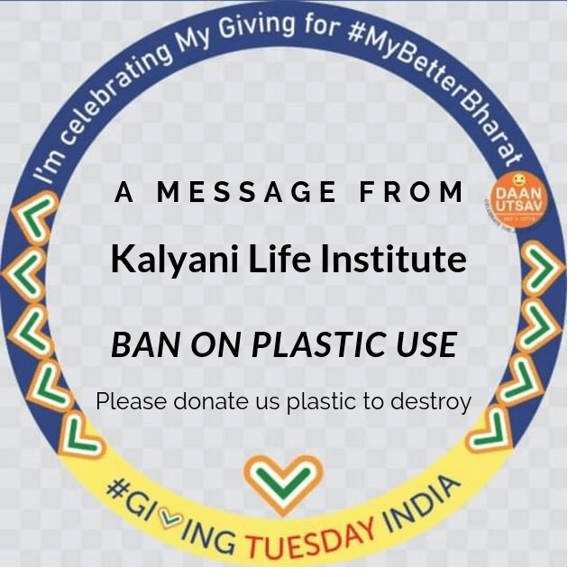 We have arranged a program to create awareness of detrimental effect of microplastics. We have organised a road rally with our beneficiaries and disposed of plastic carry bag, package, cups as and when found on our way.