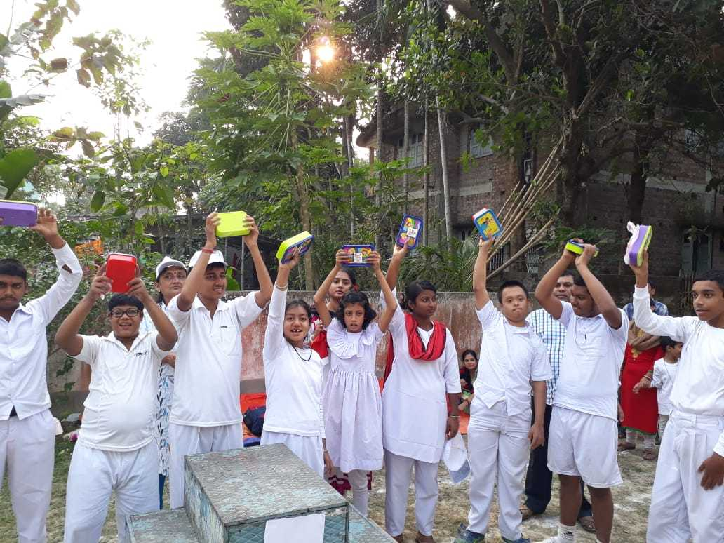 Annual Sports program for the year 2019 has been organised here on 15th December 2019, Sunday. About 100 children and young adult with Autism Cerebral palsy and Intellectual Disabilities of Kalyani Life Institute have attended the program with their families, caregivers and siblings. Apple race, butterfly race, 25 metre Run, Softball throw, Basketball throw were the events for our beneficiaries. Parents and caregivers also joined their selected event of musical chair, Goal the ball and Ball throw event.  https://photos.app.goo.gl/3Zsr8NXc4JkpcuAs5